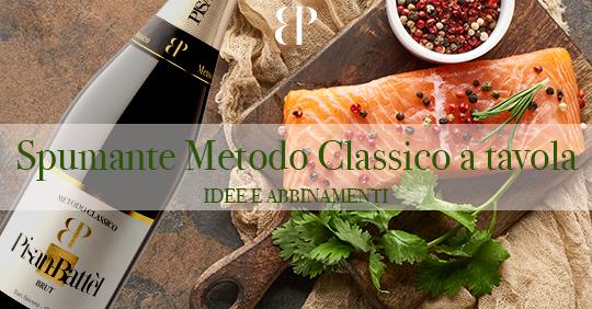 Spumante Metodo Classico a tavola – Idee e abbinamenti
